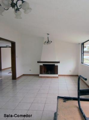 Casa de arriendo en Pomasqui de 1 planta, sector CLub de Liga $400 Inf: 2353232, 0997592747, 0992758548