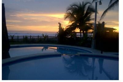 Casa de playa. Villas de Shasca. Barra de Santiago