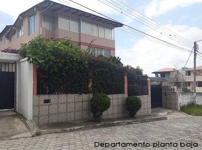Arriendo departamento Pusuqui, amplio, ideal oficinas, familias grandes, iglesias