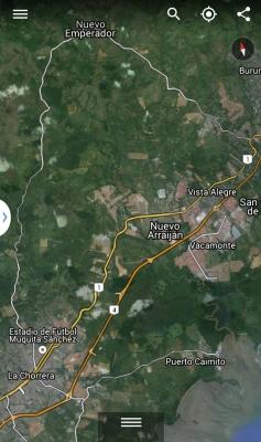 Vendo Finca de 9 hectáreas, Calle Larga hacia Nuevo Emperador