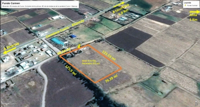 7000 m2 – Venta de Terreno en Anta – Cusco Km 25