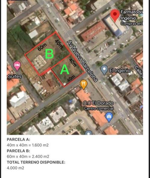 Nueva Barcelona - Terrenos y Parcelas