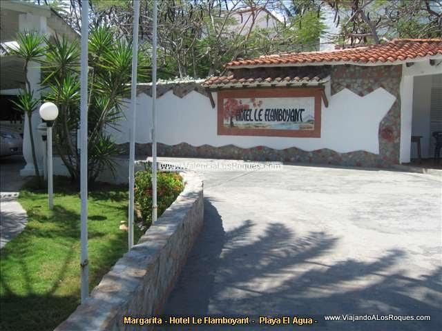 Playa El Agua - Hoteles