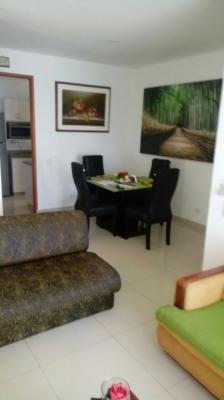 Apartamento en arriendo en Manga, Vista a la Bahia.