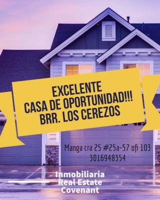 EXCELENTE CASA DE OPORTUNIDAD LOS CEREZOS