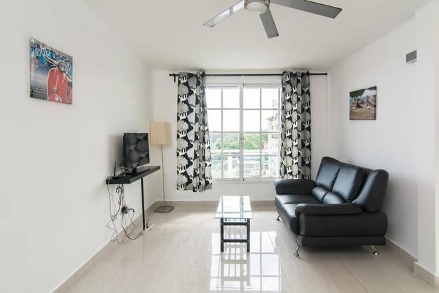 Hermoso apartamento de una habitacion c/vista al mar