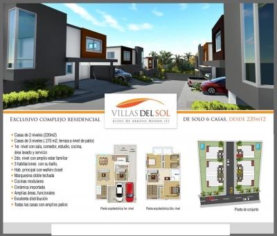 Exclusivo Proyecto de Casas.