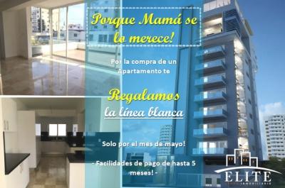 Oferta para mamá! Apartamentos en venta ubicados en Serralles. Línea Blanca Incluida!