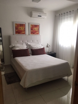 Apartamento amueblado en Piantini