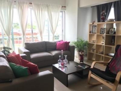 Apartamento amueblado 2 dormitorios 130m2, Gazcue