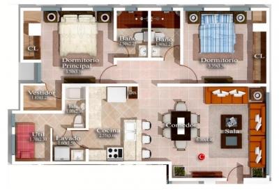 Apartamento 2 Habitaciones con Centro Comercial Cerca
