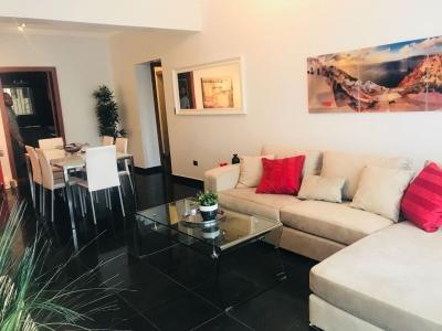 Alquilo apartamento amueblado de 2 hab en Piantini