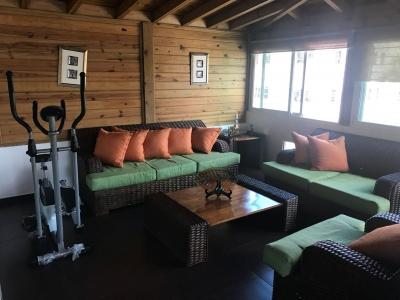 Apartamento 2do. nivel con terraza techada