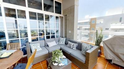 Penthouse en alquiler en la Julia Santo Domingo