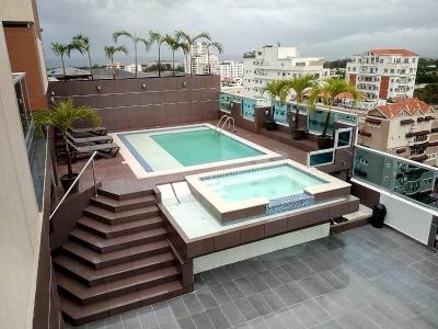 Apartamento en alquiler amueblado ubicado en Bella Vista. 1H 1.5B 1P