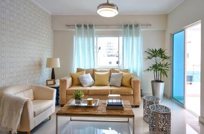 Confortables y modernos apartamentos nuevos en Evaristo Morales