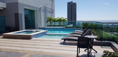 Apartamento en alquiler con Linea B. en Los Cacicazgos. 2H 2.5B 2P