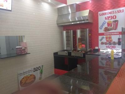 Negocio de comida Rapida en plaza comercial