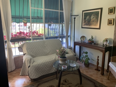 Apartamento en Bella Vista, 2h, 1b, 1p