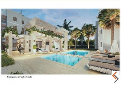 Apartamentos en Vista del Prado - Con Piscina - Bono Vivienda - Autopista Duarte