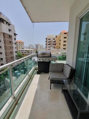 Apartamento 2Hab Amueblado Naco