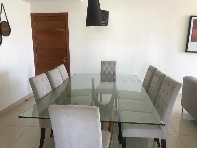 Apartamento Amueblado en Paraiso de 3 Habitaciones