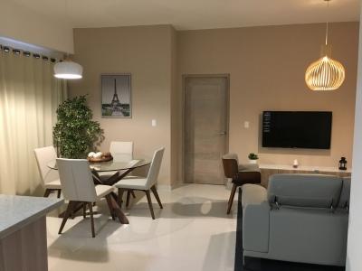Apartamento Amueblado en Paraiso de 1 Habitación