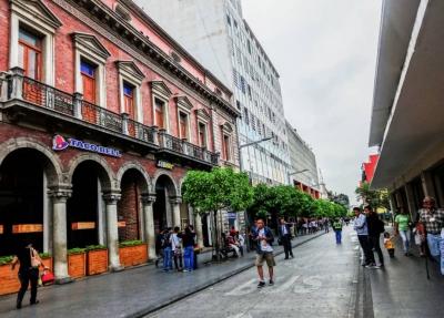 GANGA EN CENTRO HISTÓRICO,  ZONA 1 GUATEMALA