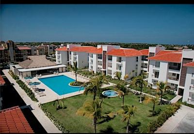Bávaro -Amueblado, Claro y cómodo apartamento a metros de Playa Arena Blanca.