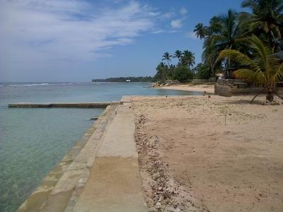 Vendo solar en primera línea de la playa en Juan Dolio