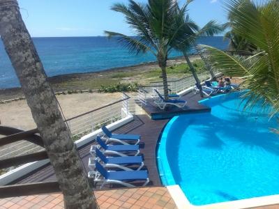 apartamento en primera línea de la playa Juan Dolio