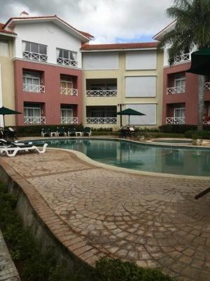 Apartamento Amueblado de 2hab en Juan Dolio C/piscina Jardines Club de Playa Vigilancia Privada
