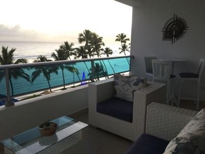 Hermoso apartamento en venta con vista al mar en Juan Dolio