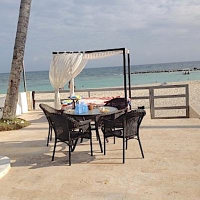 Juan Dolio -Primera línea de playa. Amueblado.