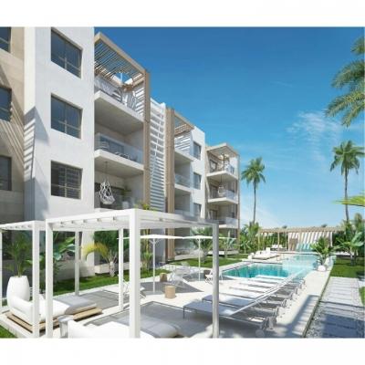 Modernos Apartamentos en venta en Punta Cana a solo 50 metros de la playa