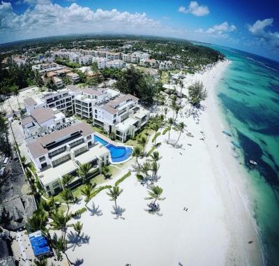 Venta de apartamentos en Punta Cana frente a la playa