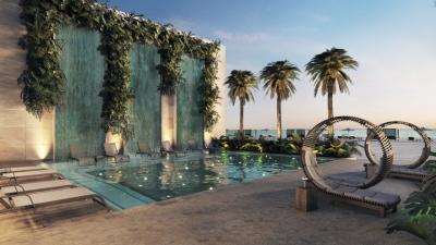 Apartamentos en venta de 2 habitaciones en Punta Cana Club de playa y Campo de Golf, área comercial, Rooftop con piscina, estilo Mediterráneo, Piscinas diferentes profund