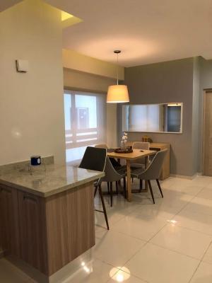 alquiler apartamento amoblado en piantini espectacular