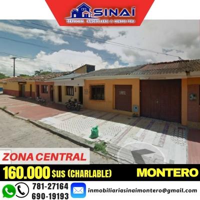EXCELENTE CASA EN VENTA – ZONA CENTRAL MONTERO