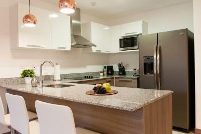 Apartamento Contemporaneo de 2H, 2B, 2P en Venta en San Jose.#8031