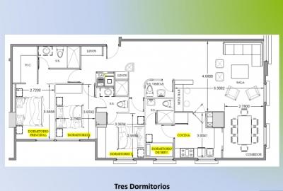 Lindísimo Apartamento de 3 Habitaciones en Venta, Zona 15
