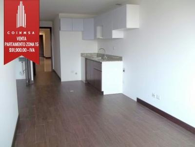 Apartamento Nuevo en venta ubicado en zona 15