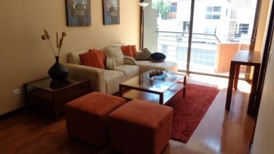 Apartamento amueblado y equipado en venta zona 14 Nivel Bajo