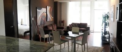 Apartamento amueblado zona 10 - 2 dormitorios