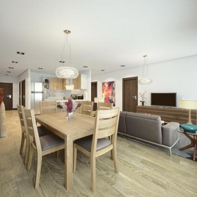 Vendo Apartamento 2-3 Dormitorios en Vista Hermosa I zona 15, Excelente Ubicación ¡último Disponible!