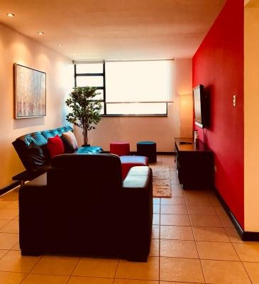 Apartamento amoblado en excelente ubicación de dos habitaciones.