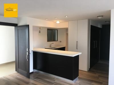 AlquiloGT Apartamento en zona 15 de 85m², 2HAB 2PARQ