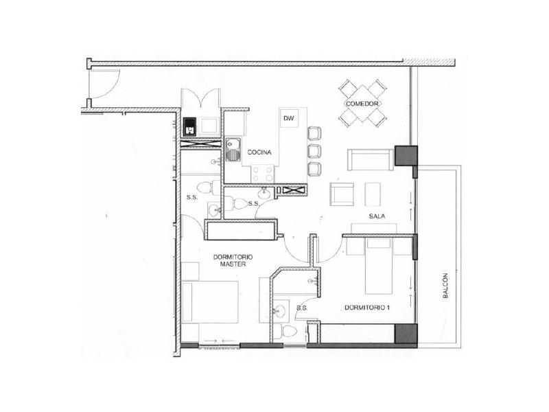 Apto. Disponible Edificio Leben - nivel 4