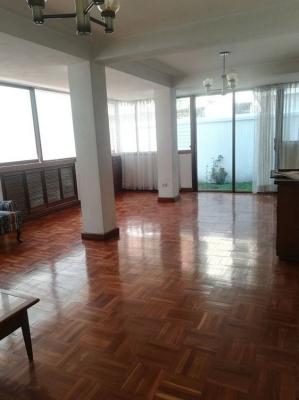Apartamento con Jardín en renta de 3 habitaciones
