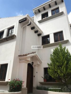 AlquiloGT Casa en zona 16, Cayalá de 3HAB 2PARQ